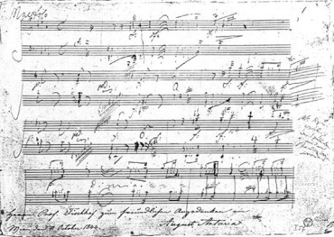 Beethoven ms Piano Sonata Op. 111