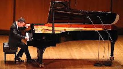 Inon Barnatan playing at Carnegie Hall NY Times