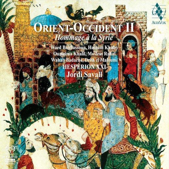 Jordi Savall Orient-Occident 2 CD cover