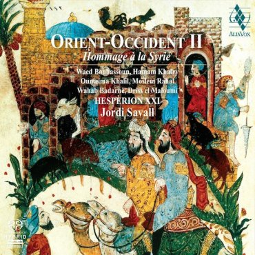 Jordi Savall Orient-Occident 2 CD cover