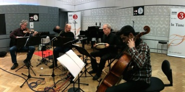 Kronos Quartet plyaing on BBC Radio 2012