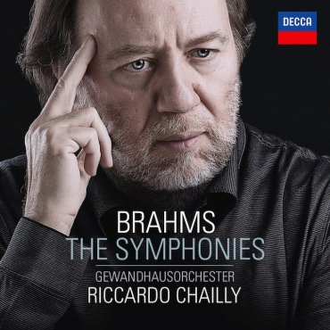 Riccardo Chailly Brahms Symhonies CD Cover
