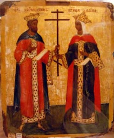 Russian icon from Novgorod
