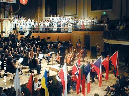 Aberdeen International Youth Festival Opeing Ceremony
