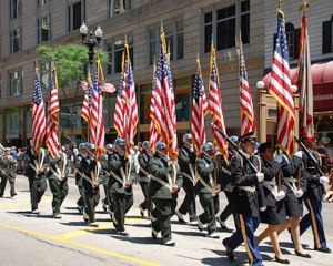chicago memorial day parade