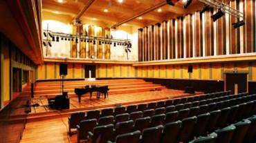Flagey building concert hall, studio