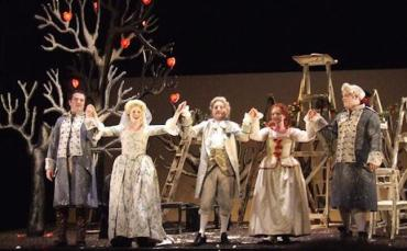 Haydn's opera %22Country Matters%22 by the English Touring opera
