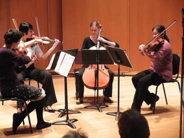 Hunt Quartet in Mills 2-2014