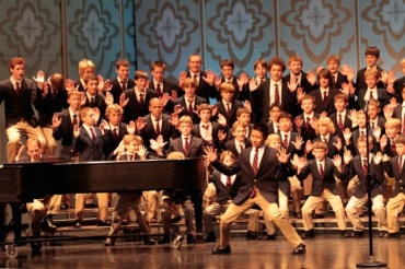 Madison Youth Choirs boychoirs Purcell, Britten and Holst CR Karen Holland