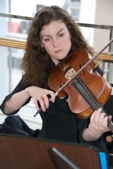 Marie Pauls violist