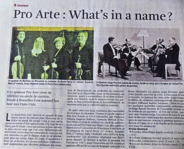 PAQ Belgium newspaper