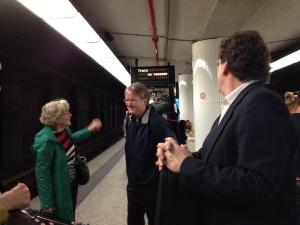 PAQ essay 3 train platform Sally, David, Parry.