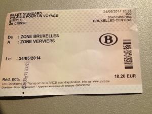 PAQ essay 4 train ticket to Verviers Sarah SchafferJPG
