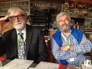 PAQ in Belgium brothers Michael Arthur Prevost (left) and Jean Marie Prevost Sarah Shaffer