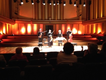 PAQ in Belgium Performing in Flagey Hall Sarah Schaffer