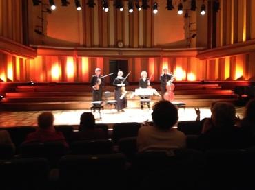 PAQ in Belgium Performing in Flagey Hall Sarah Schaffer