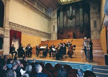 Royal Conservatory Grand Hall Brussells