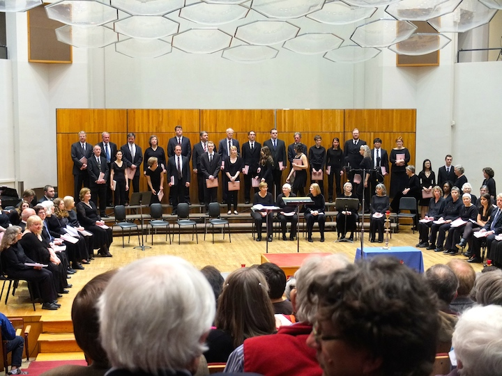 Vespers seating UW Choral Union