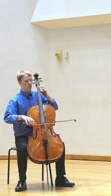 Cello Choir 2014 Andrew Laven