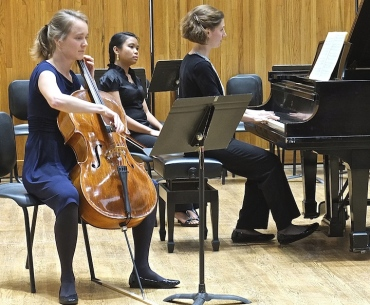 Cello Choir 2014 Cordula Aeschbacher