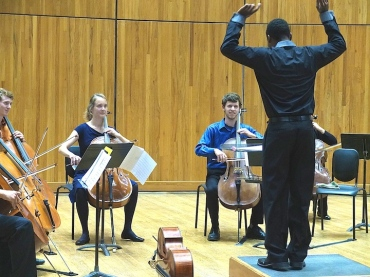 Cello Choir 2014 Improvisation exercise