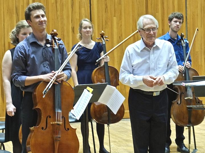 Cello Choir 2014 Jim Smith