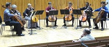 Cello Choir 2014 Kyle Price Requiem cellos