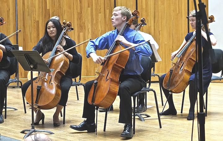 Cello Choir 2014 right