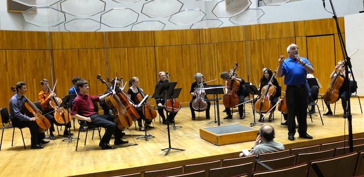 Cello Choir 2014 with Uri Vardi