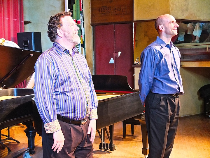 Jeffrey Sykes and Christopher Taylor at Taliesin BDDS 2014