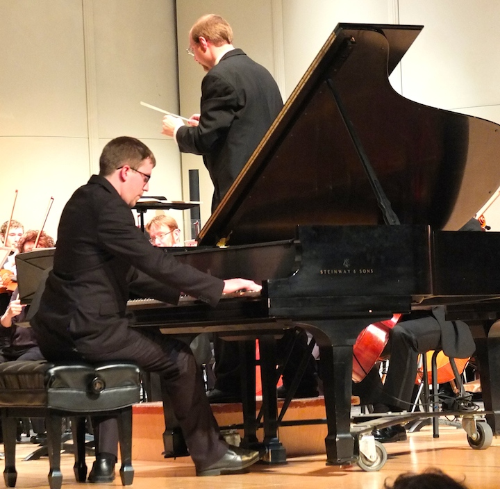Solo recitals chamber music and the grieg piano concerto with the