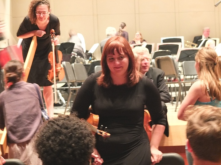 MCO violinist and public 6-2014