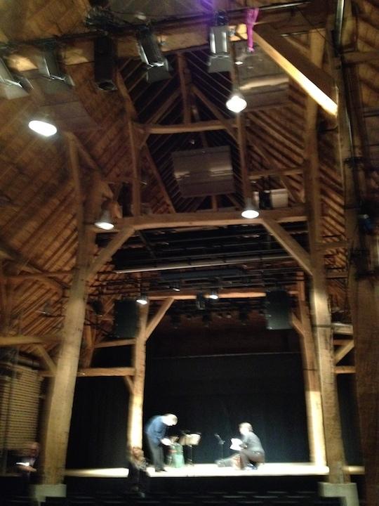 PAQ in Belgium LLN hall recording setup 2 SS