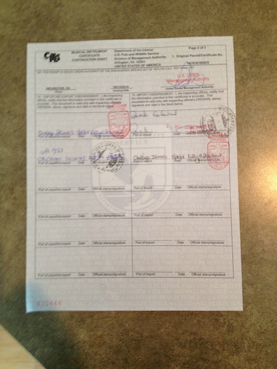 PAQ in Belgium LLN Sally CITES document 1 SS