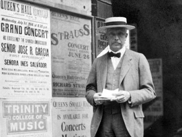 richard strauss in 1914 Hutton Archive Getty Images