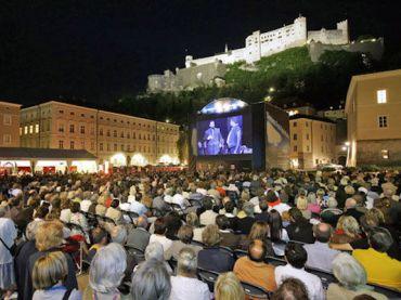 Salzburg Festival outdoors