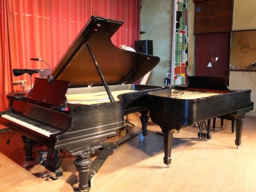 Two PIanos at Taliesin BDDS 2014