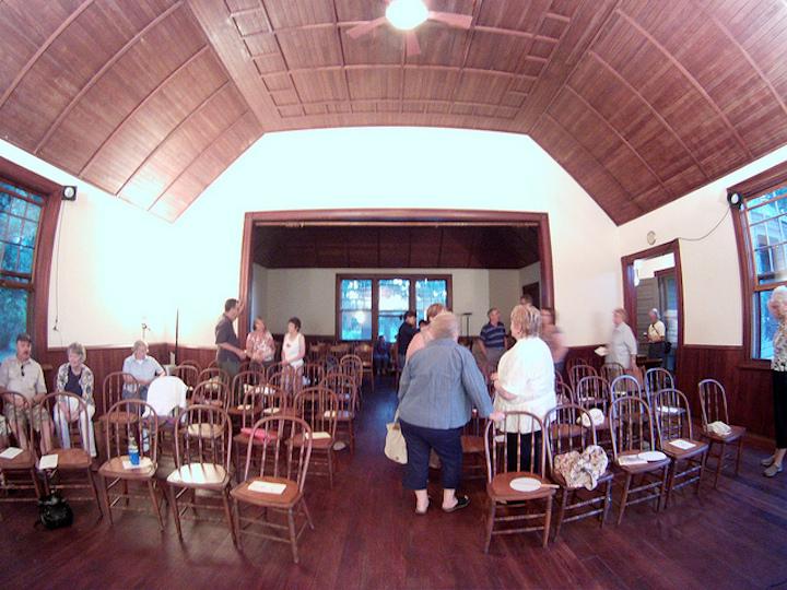 Unity Chapel in Spring Green interior