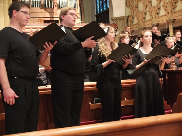 Wisconsin Chamber Choir RVW 4 solists