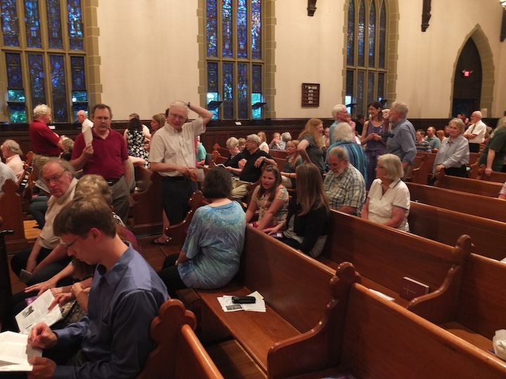 Wisconsin Chamber Choir RVW audience