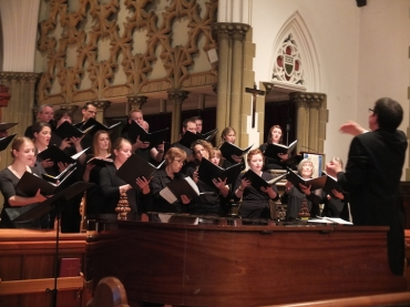Wisconsin Chamber Choir with Gehrenbeck RWV
