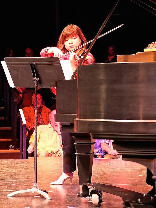 Yura Lee in Debussy Sonata BDDS 2014