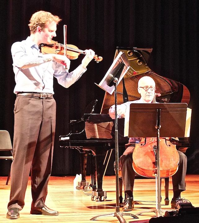 BDDS 2014 Stauss and Fonteneau play Ravel Sonata