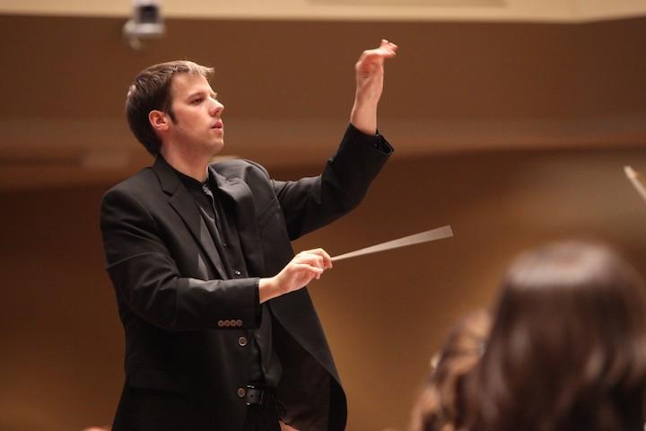 Grant Harville conducting 2