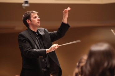 Grant Harville conducting 2