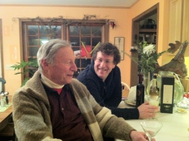Howard Karp and Parry Karp New Year's Eve 2013