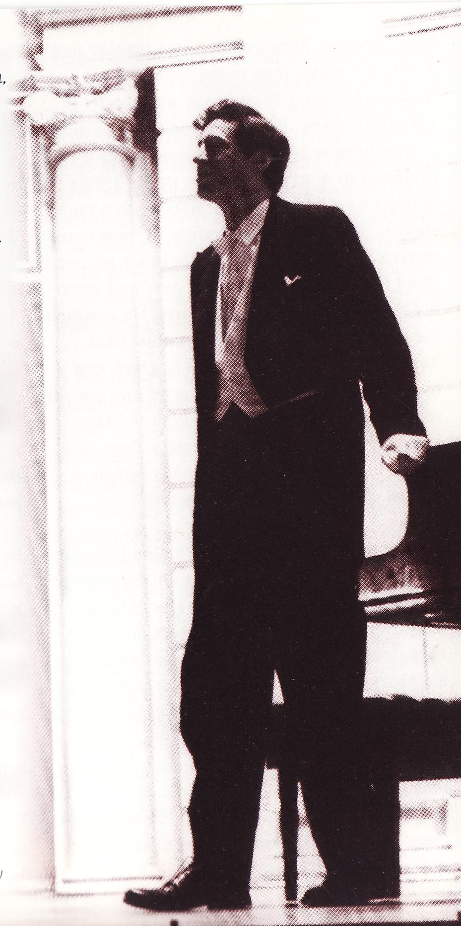 Howard Karp at the Amsterdam Concertgebouw in 1968