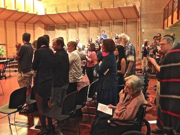 MAYCO audience at FUS July 2014