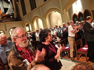 MEMF 2014 Luther Memorial audience Toronto Consort