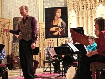 MEMF 2014 Luther Memorial Toronto Consort David Fallis, artistic director, tenor, narrator